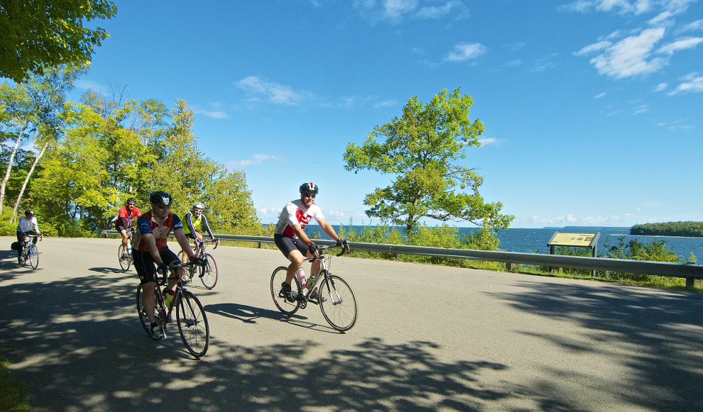 Door County Century Bike Ride. Photo by Len Villano