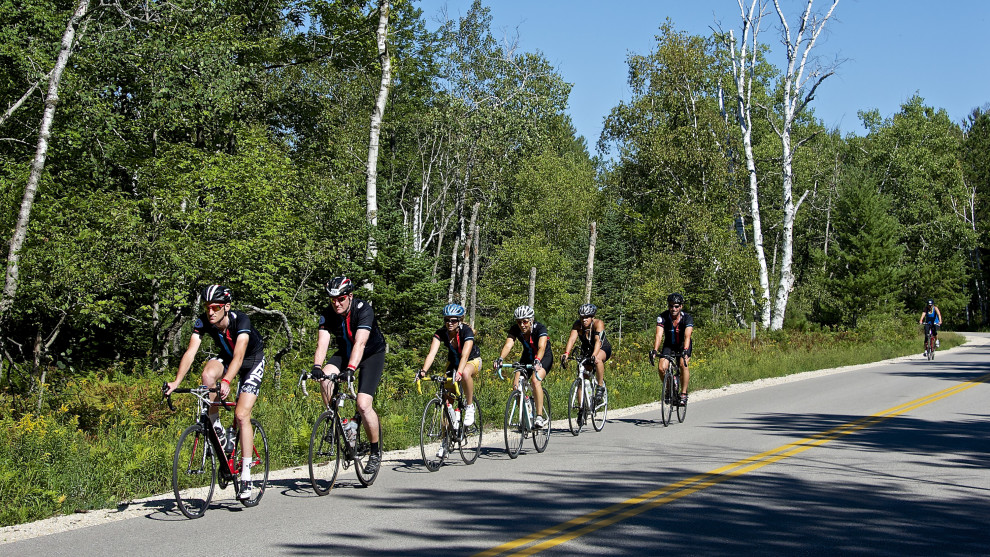 Door County Century Bike Ride Sunday, September 7, 2014. Photo by Len Villano.